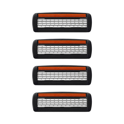 King of Shaves K4 Four Blade Cartridge Pack x 4