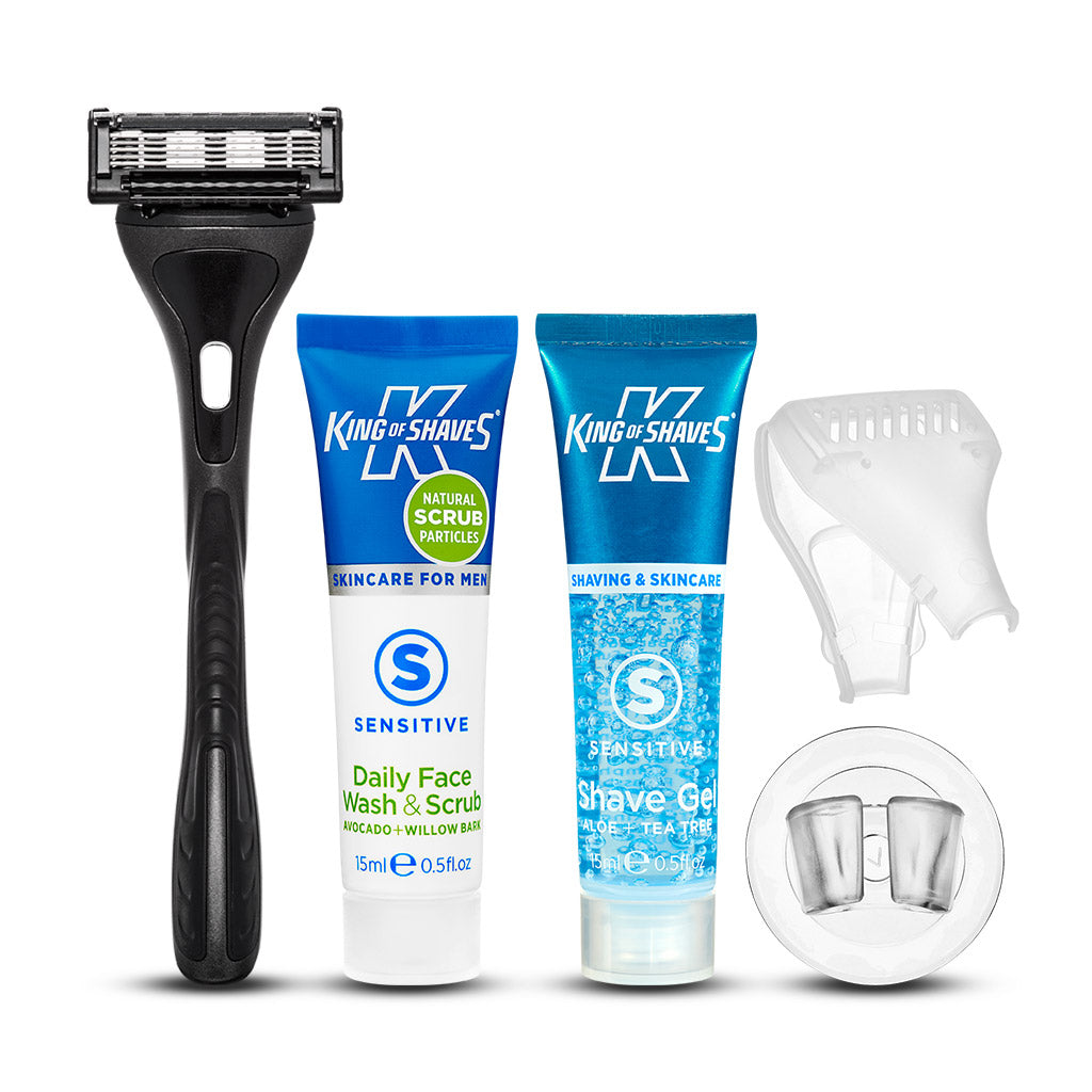 King of Shaves K5 Five Blade Razor Trial Set