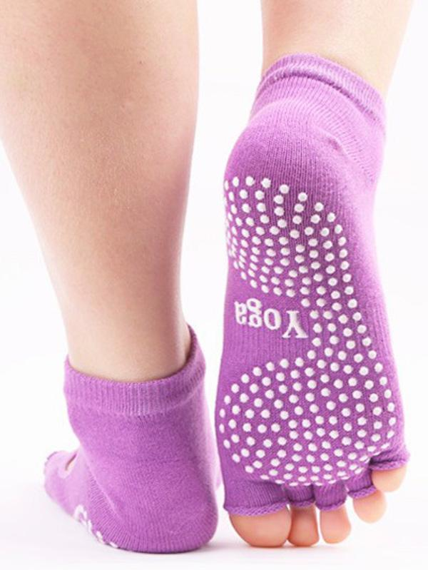 Cotton Dispensing Antiskid Ventilate Each Toe Socks