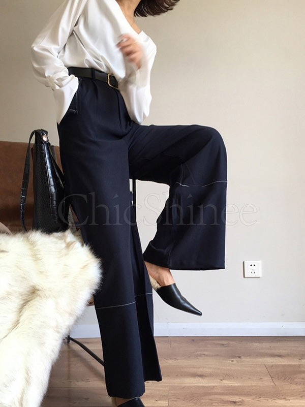 Casual Empire Wide-leg Pants
