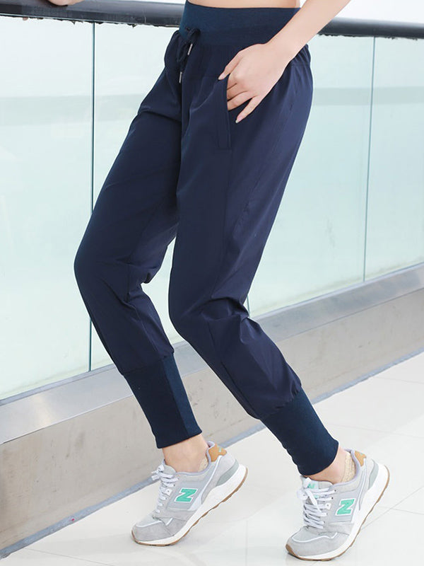 Pocket High Waist Track Pants
