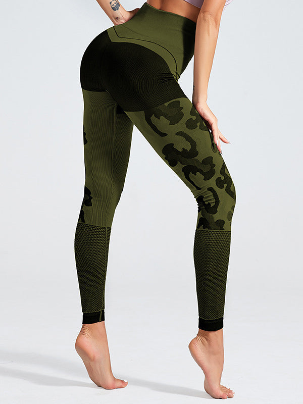 Camouflage Seamless Lift Hip Legging