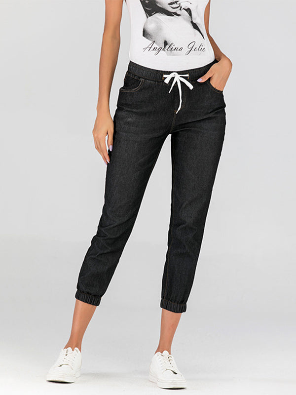 Fashion 3 Colors Cropped jeans