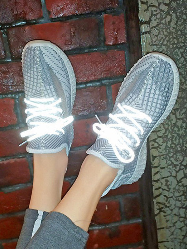 Knitted Mesh Breathable Sneakers
