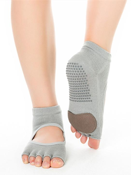 Open-backed Five-finger Yoga Socks
