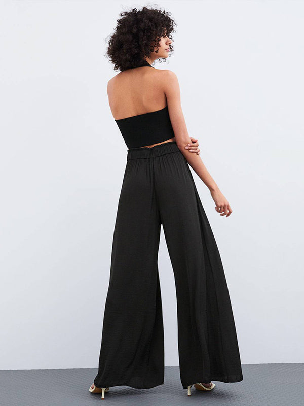 Elasticity Waist Casual Pants Bottom