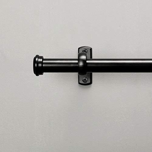 Hanging Curtain Rod&Wall Mount with Brackets Outdoor Curtain Rod
