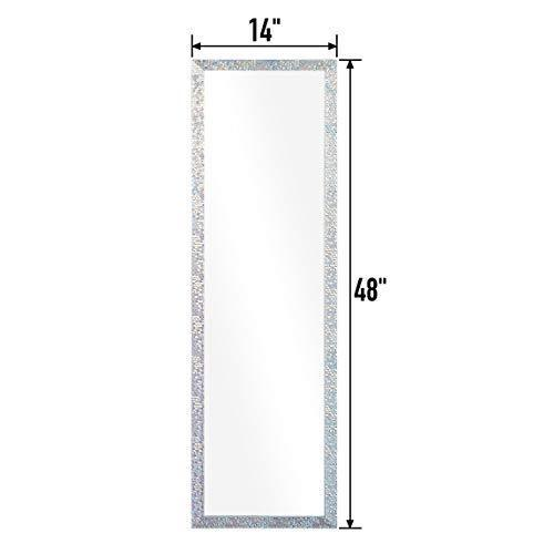 Mosaic Style Frame, Door Mirror, Over Door Mirror, Full Length Mirror, Wall Mirror, Door Hanging Mirror