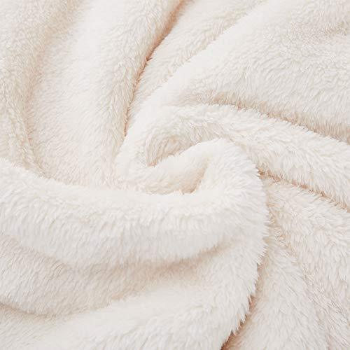 Rose Home Fashion Soft Luxury Fluffy Fuzzy Blanket for Birthday Gifts for Her