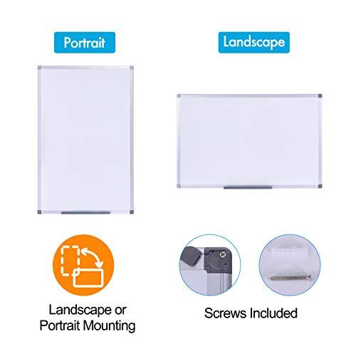 "48"" x 36"", Aluminum Alloy Frame, Honeycomb Core, Magnetic Dry Erase Board, Magnetic Whiteboard, Whiteboard for Wall, Large Whiteboard"