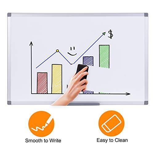 "36"" x 24"", Aluminum Alloy Frame, Honeycomb Core, Magnetic Dry Erase Board, White Board, Magnetic Whiteboard, Whiteboard for Wall"