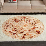 Rose Home Fashion Funny Tortilla Burrito Blanket, Warm and Comfortable