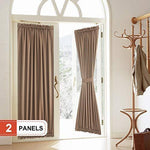 Rose Home Fashion Blackout French Door Curtains/Panel