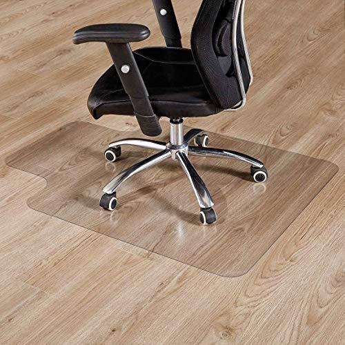 "Office Chair Mat with Lip, 35""×47""-2mm Thick, Chair Mat for Hardwood Floor, Desk Chair Mat, Floor Protectors for Office Chairs, Office Mat, Office Mats for Rolling Chairs"