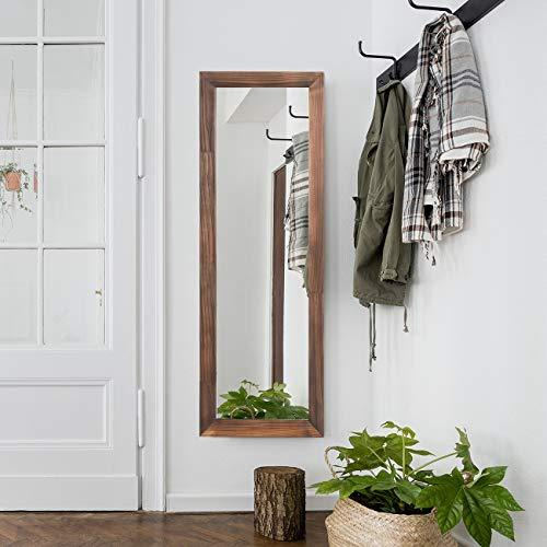 RHF Full Length Mirror, Tall Floor Mirror, Large Full Body Mirror, Wall Mirror, Rustic Wood Framed, Vertical and Horizontal, Standing Hanging or Leaning Against Wall, Farmhouse Chic Decor, 63""