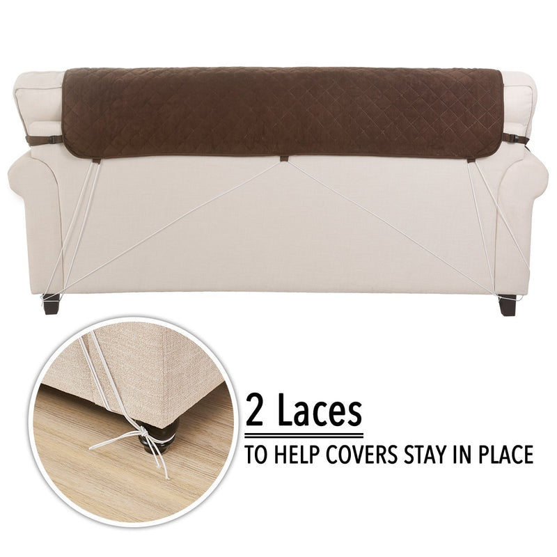 Rose Home Fashion Faux Suede Pet Protector Furniture Covers, Sofa Protector Cover