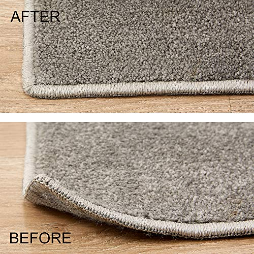 Rose Home Fashion 8 Pcs Anti Slip Rug Grippers Keeps Your Rug in Place & Makes Corners Flat