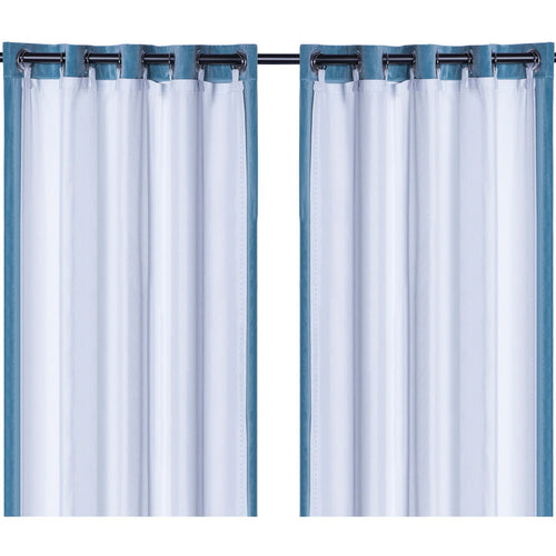 Rose Home Fashion Thermal Insulated Blackout Curtain Liner Panel-Ring Included