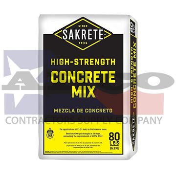 Sakrete Concrete Mix -  80lb. Bag