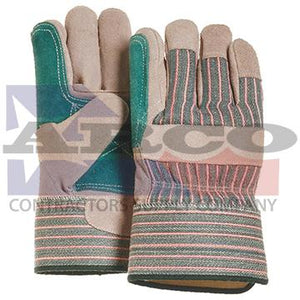 Double Leather Palm Glove Size Large