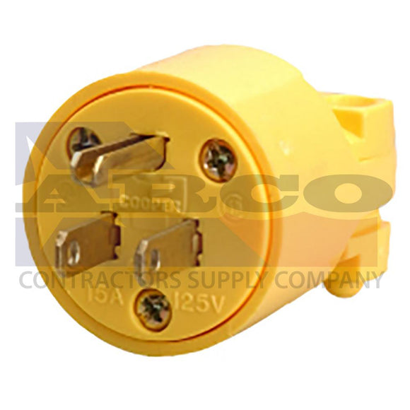 Male Plug End, U-Ground