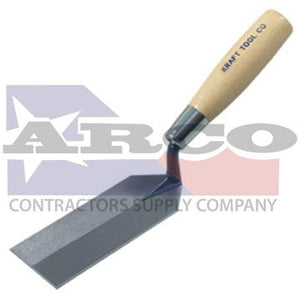 "GG432 5"" x 2"" Margin Trowel with Wood Handle"