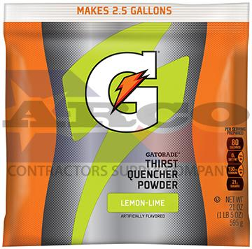 Lemon Lime Gatorade 21oz. Powder
