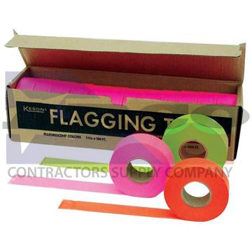 Glo-Yellow/Lime Survey Tape 150'