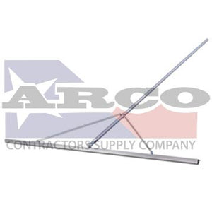 CC562 12' Magnesium Paver's Straightedge with 12' Handle & Braces