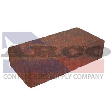 Brick Paver 2x4x8 ADA Red