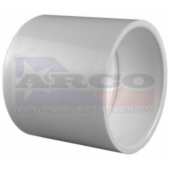 2 in. PVC Sch. 40 S x S Coupling