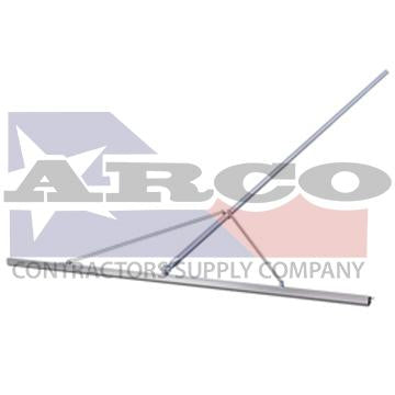 CC561 10' Magnesium Paver's Straightedge with 12' Handle & Braces