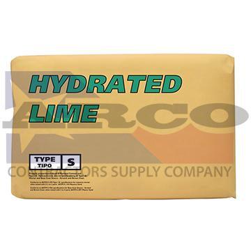 Hydrated Lime 50 Lb. Bag