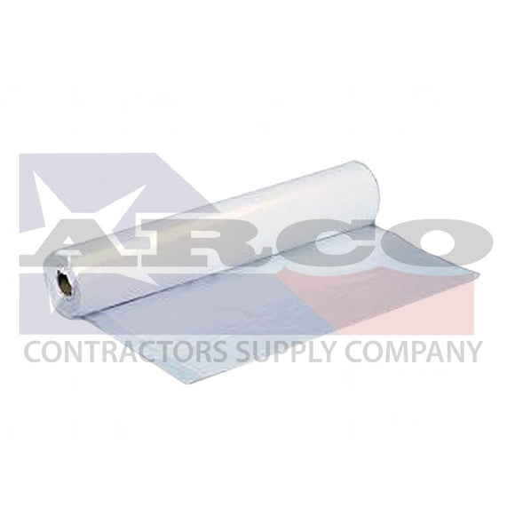 6mil. 20'x100' Clear Poly Construction Film