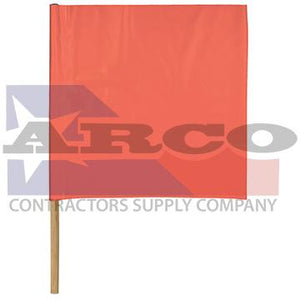 "24"" Caution Flag W/36""Dowel"
