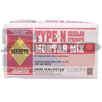 60lb. Mortar Mix Type N