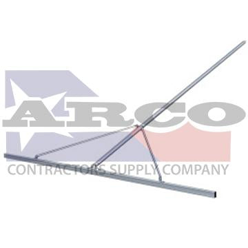 CC710 10' Aluminum Paver's Straightedge with 10' Handle & Braces