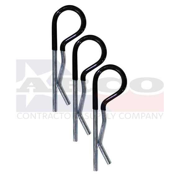 7021300 Comfort Grip R-Pin Cotter Clips, 3 Pack