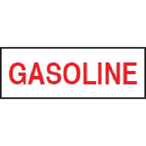 "3x5"" Gasoline Sticker"