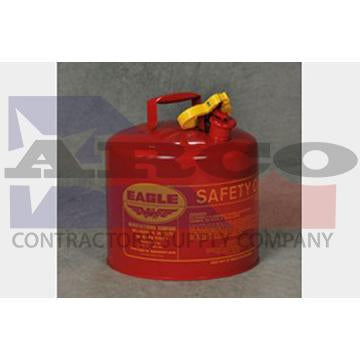 Eagle 5 Gal. Red Gas Can (T1)