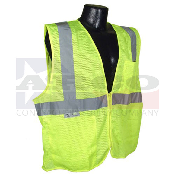 Rad SV2Z Economy Type R Class 2 Mesh Vest with Zipper