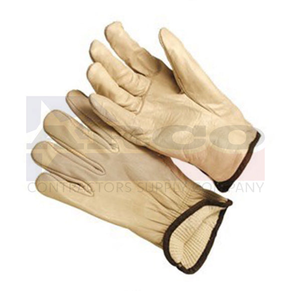 White Thermal Lined Driver Glove