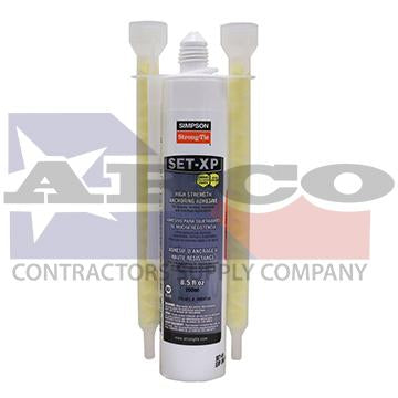 Set-xp10 10oz. Epoxy Cartridge
