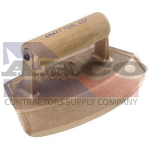 "CF386 30"" Diameter Chamfer Tube Bronze Edger with Wood Handle"