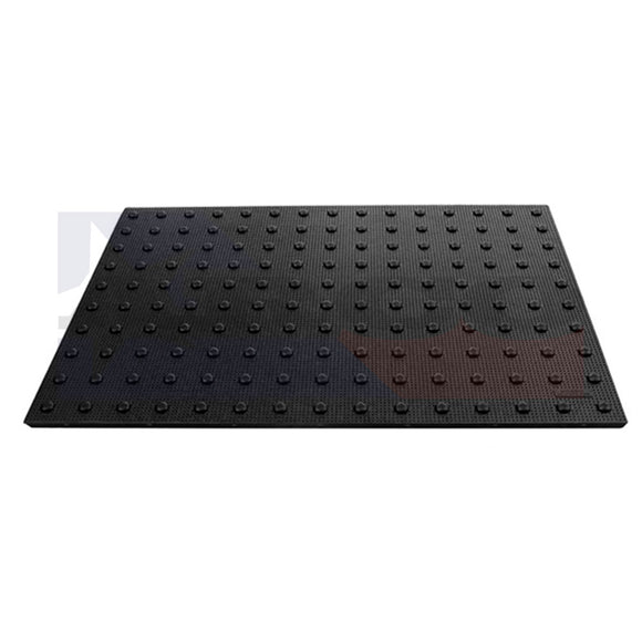 Cast-In-Place Replaceable ADA Panel 2'x5' Black