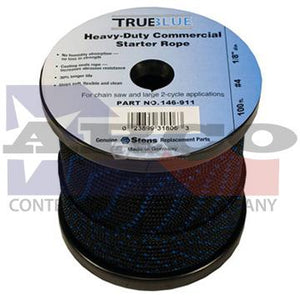 "#4 1/8"" TrueBlue Starter Rope - Sold by the Foot"