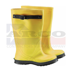 "USA 17"" Yellow Overboot with Strap"