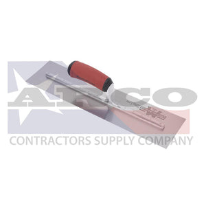 "MXS75D 18X3"" Trowel with Curved Dura-Soft Handle"