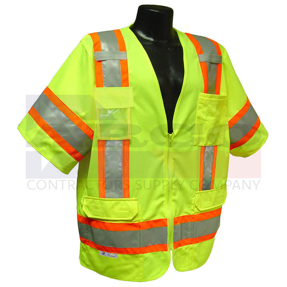 Rad SV63 Vest Two-Tone Surveyor Type R Class 3 Vest