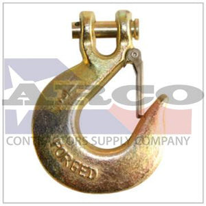"3/8"" G70 Clevis Grab Hook Gold"